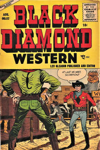 Cover Thumbnail for Black Diamond Western (Lev Gleason, 1949 series) #57