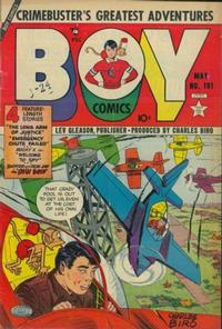 Cover Thumbnail for Boy Comics (Lev Gleason, 1942 series) #101