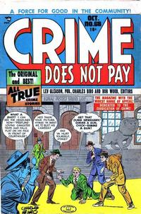 Cover Thumbnail for Crime Does Not Pay (Lev Gleason, 1942 series) #68
