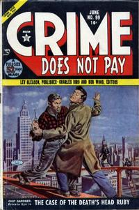Cover Thumbnail for Crime Does Not Pay (Lev Gleason, 1942 series) #99