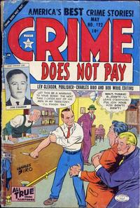 Cover Thumbnail for Crime Does Not Pay (Lev Gleason, 1942 series) #122