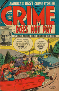Cover Thumbnail for Crime Does Not Pay (Lev Gleason, 1942 series) #125
