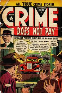 Cover Thumbnail for Crime Does Not Pay (Lev Gleason, 1942 series) #126