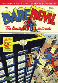 Cover Thumbnail for Daredevil Comics (Lev Gleason, 1941 series) #33