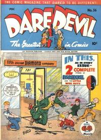 Cover Thumbnail for Daredevil Comics (Lev Gleason, 1941 series) #36