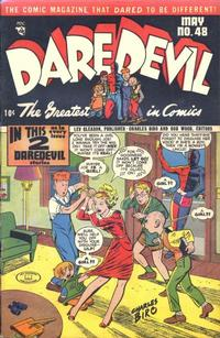 Cover Thumbnail for Daredevil Comics (Lev Gleason, 1941 series) #48