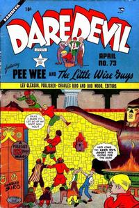 Cover Thumbnail for Daredevil Comics (Lev Gleason, 1941 series) #73