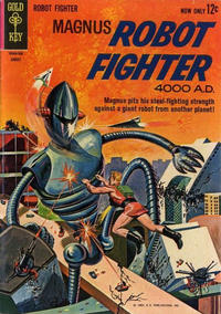 Cover Thumbnail for Magnus, Robot Fighter (Western, 1963 series) #3