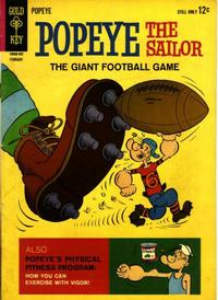 Cover Thumbnail for Popeye the Sailor (Western, 1962 series) #71