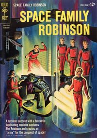 Cover Thumbnail for Space Family Robinson (Western, 1962 series) #6