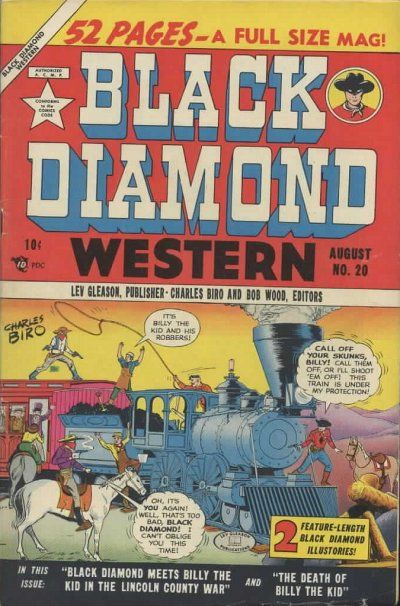 Cover for Black Diamond Western (1949 series) #20