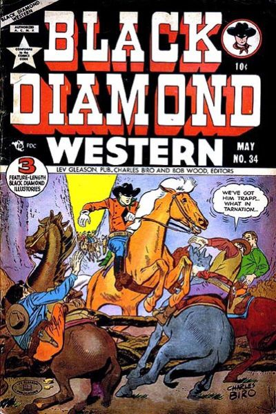 Cover for Black Diamond Western (1949 series) #34