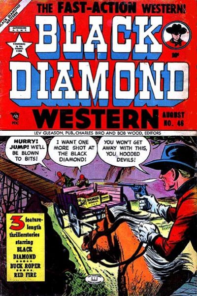Cover for Black Diamond Western (1949 series) #46