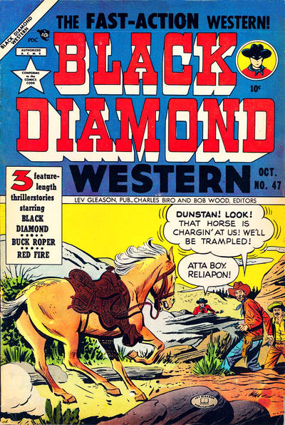 Cover for Black Diamond Western (1949 series) #47