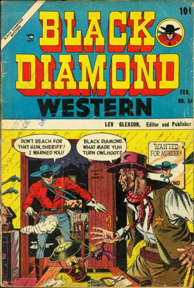 Cover for Black Diamond Western (1949 series) #54