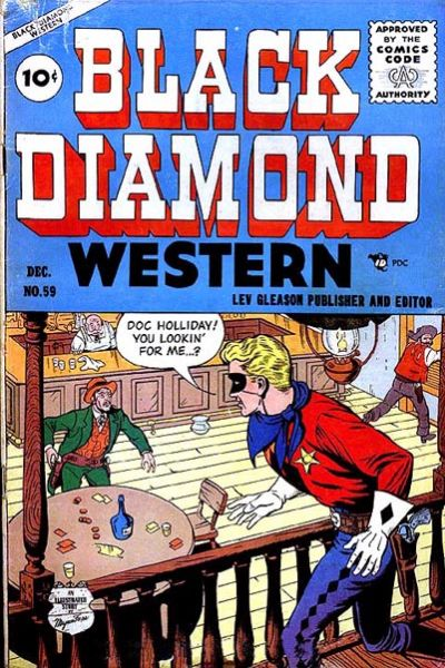 Cover for Black Diamond Western (1949 series) #59