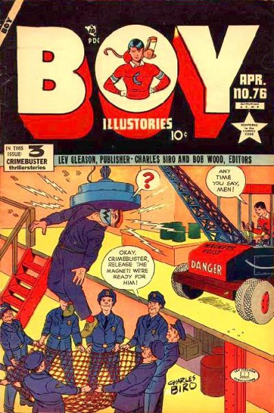 Cover for Boy Comics (1942 series) #76