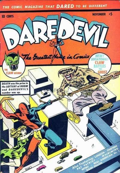 Cover for Daredevil Comics (Lev Gleason, 1941 series) #5