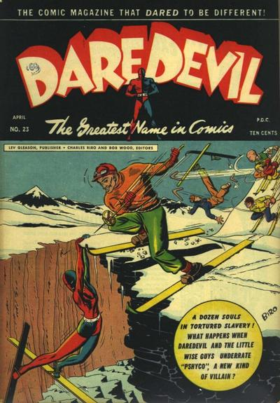 Cover for Daredevil Comics (Lev Gleason, 1941 series) #23