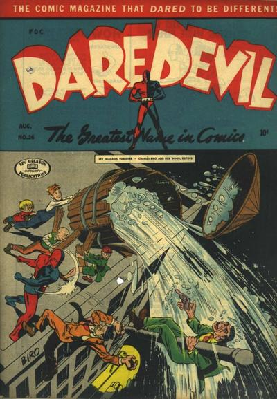 Cover for Daredevil Comics (Lev Gleason, 1941 series) #26