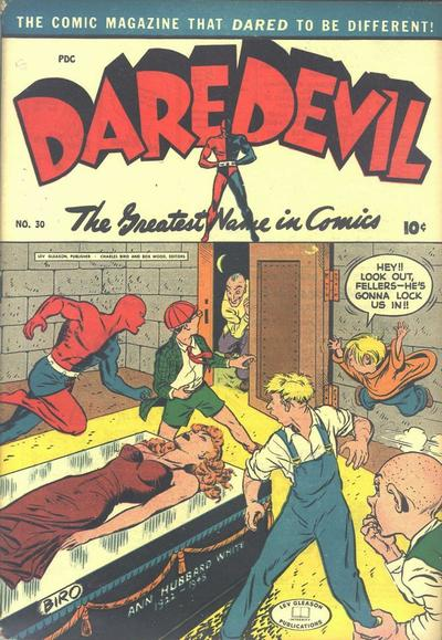 Cover for Daredevil Comics (Lev Gleason, 1941 series) #30