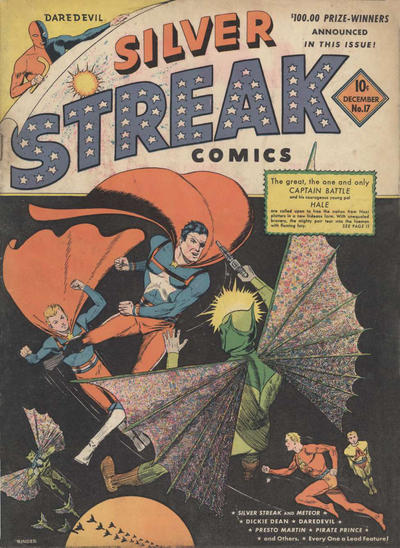 Cover for Silver Streak Comics (Lev Gleason, 1939 series) #17