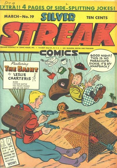Cover for Silver Streak Comics (1939 series) #19
