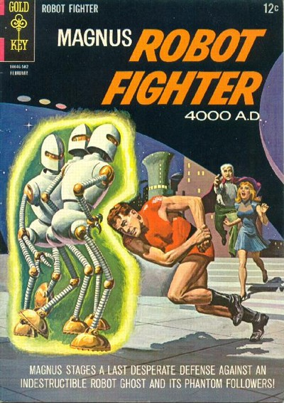 Cover for Magnus, Robot Fighter (Western, 1963 series) #9
