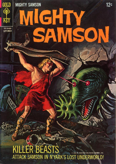 Cover for Mighty Samson (1964 series) #7