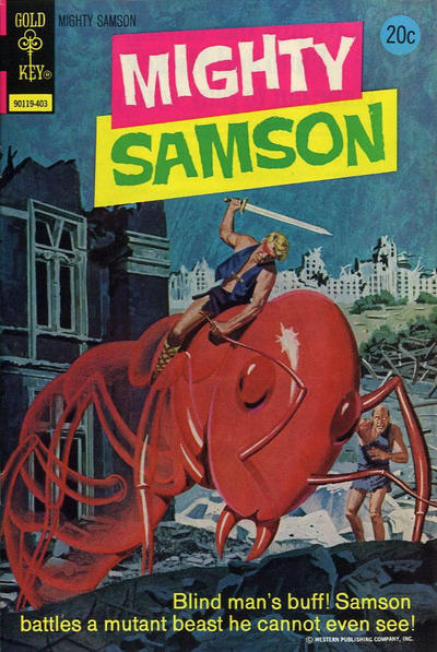 Cover for Mighty Samson (Western, 1964 series) #23