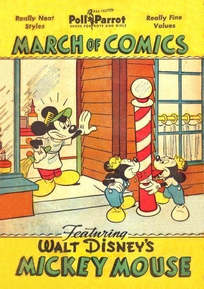 Cover for March of Comics (Western, 1946 series) #45