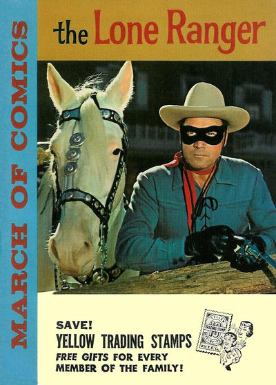 Cover for March of Comics (Western, 1946 series) #208