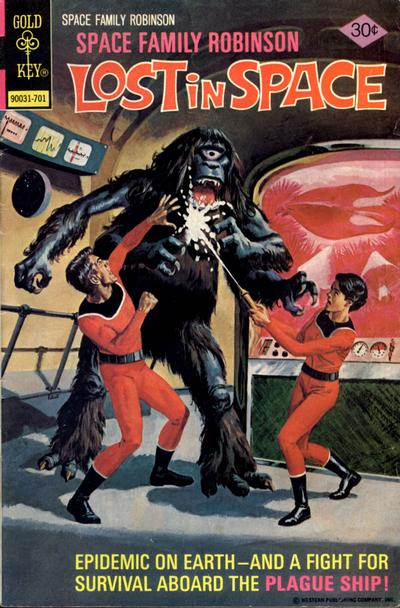 Cover for Space Family Robinson (1962 series) #50
