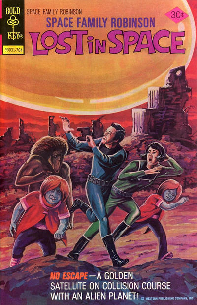 Cover for Space Family Robinson (1962 series) #51