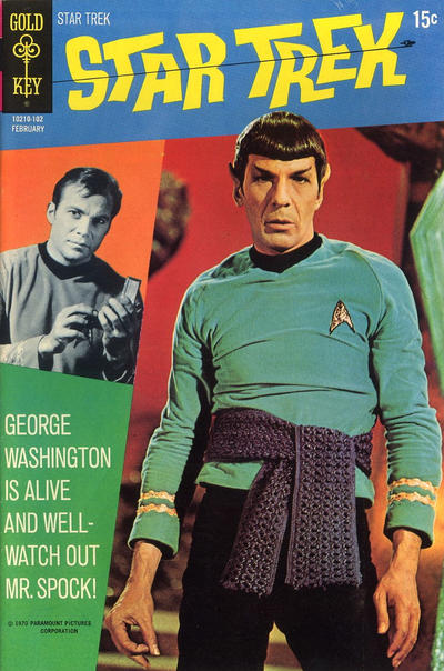 Cover for Star Trek (Western, 1967 series) #9