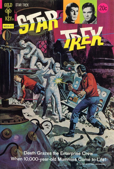 Cover for Star Trek (Western, 1967 series) #21