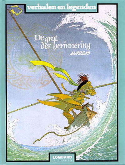 Cover for De grot der herinnering (Le Lombard, 1985 series)