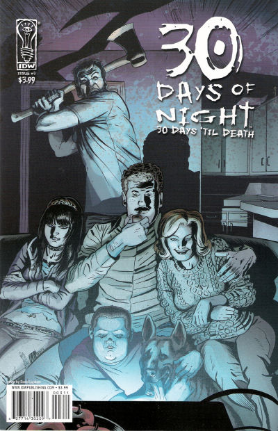 Cover for 30 Days of Night: 30 Days 'Til Death (IDW, 2008 series) #3 [Retailer Incentive Cover]