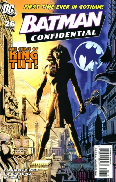 Cover for Batman Confidential (DC, 2007 series) #26