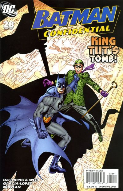Cover for Batman Confidential (2007 series) #28