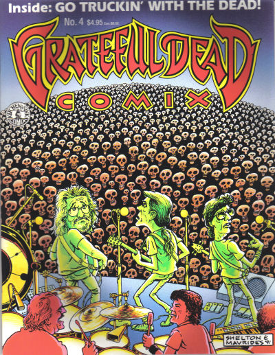 Cover for Grateful Dead Comix (1991 series) #4
