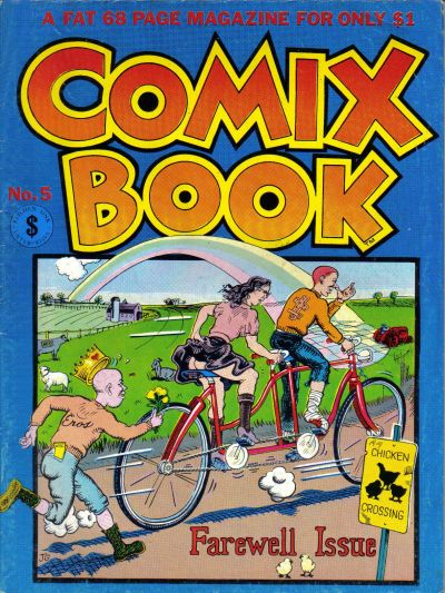 Cover for Comix Book (1976 series) #5