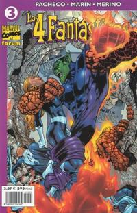 Cover Thumbnail for Los 4 Fantásticos (Planeta DeAgostini, 2001 series) #3