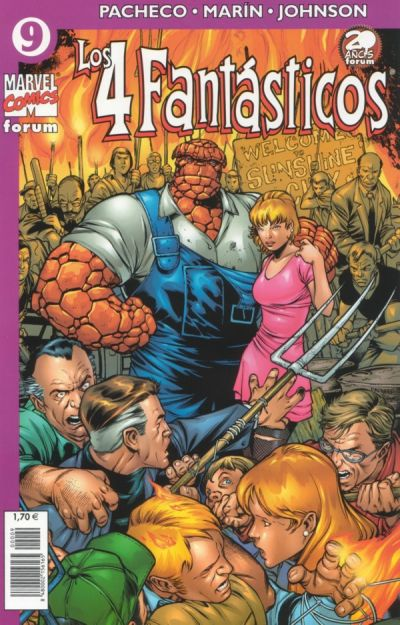 Cover for Los 4 Fantásticos (Planeta DeAgostini, 2001 series) #9