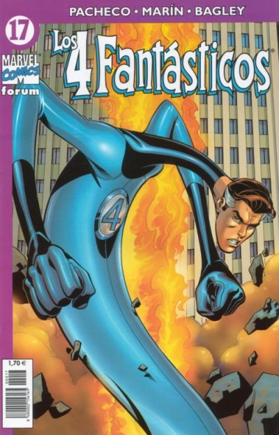 Cover for Los 4 Fantásticos (Planeta DeAgostini, 2001 series) #17