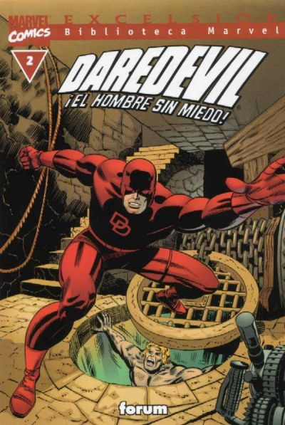 Cover for Biblioteca Marvel: Daredevil (Planeta DeAgostini, 2001 series) #2