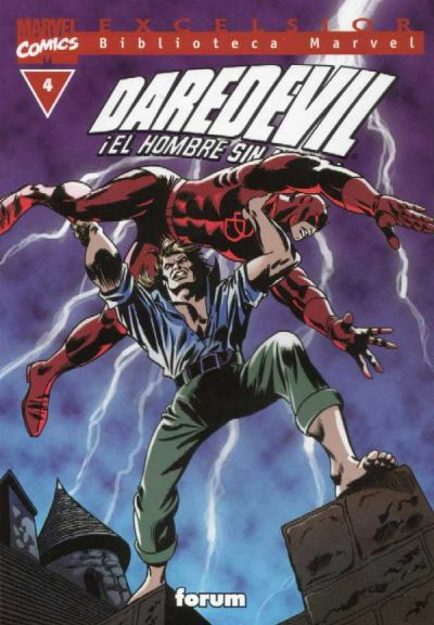 Cover for Biblioteca Marvel: Daredevil (2001 series) #4