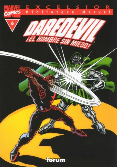 Cover for Biblioteca Marvel: Daredevil (Planeta DeAgostini, 2001 series) #6