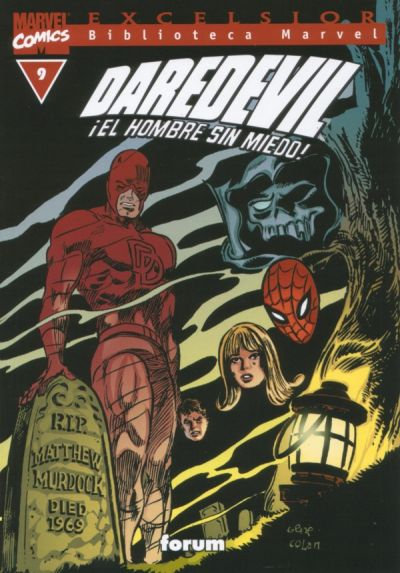 Cover for Biblioteca Marvel: Daredevil (Planeta DeAgostini, 2001 series) #9