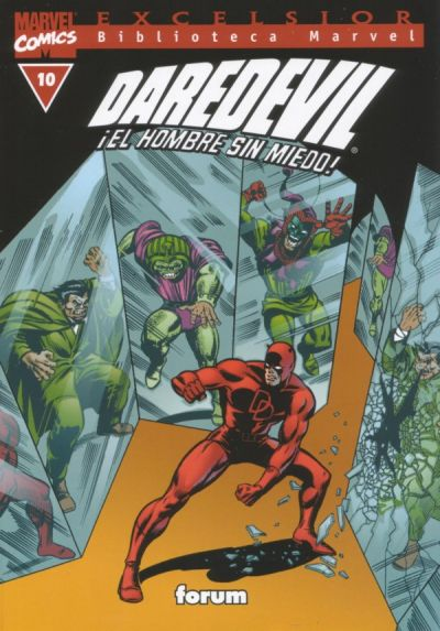 Cover for Biblioteca Marvel: Daredevil (2001 series) #10